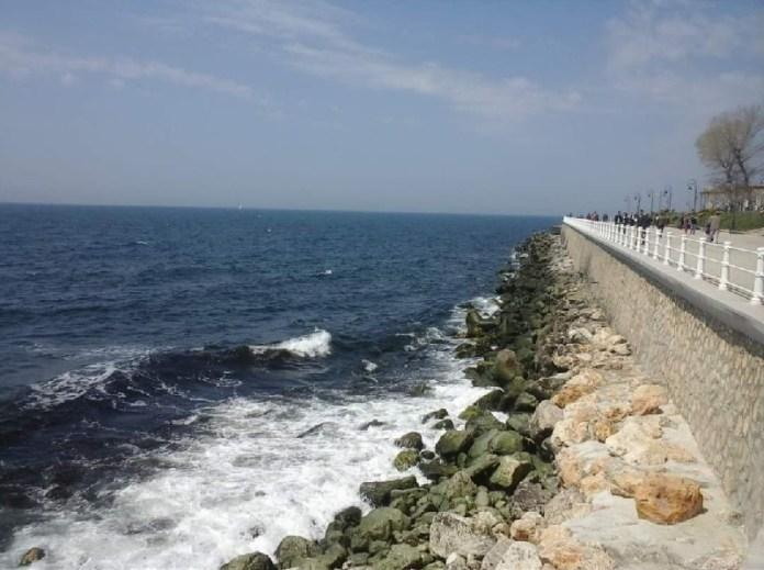 Faleza litoralului