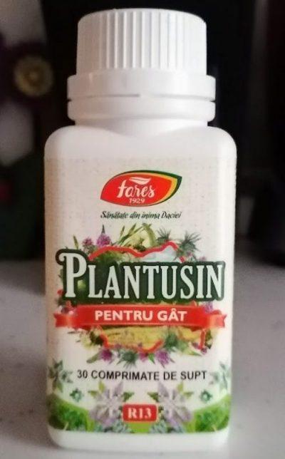 Plantusin pentru gât