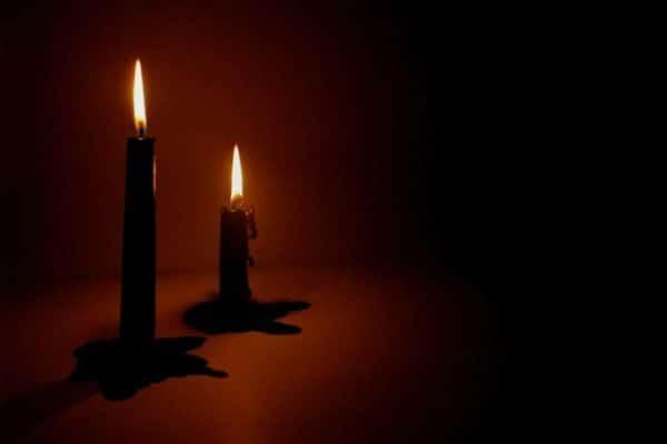 velas negras