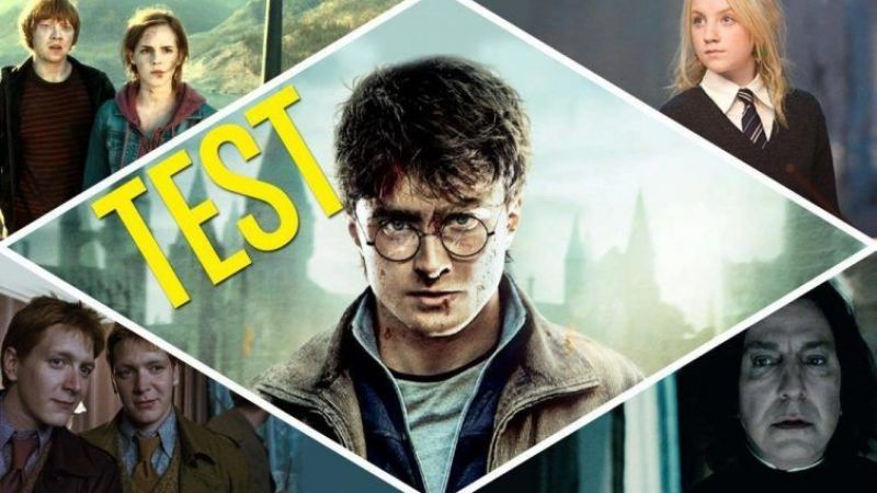 Test Harry Potter películas