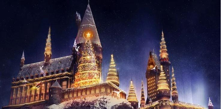 hogwarts navidad