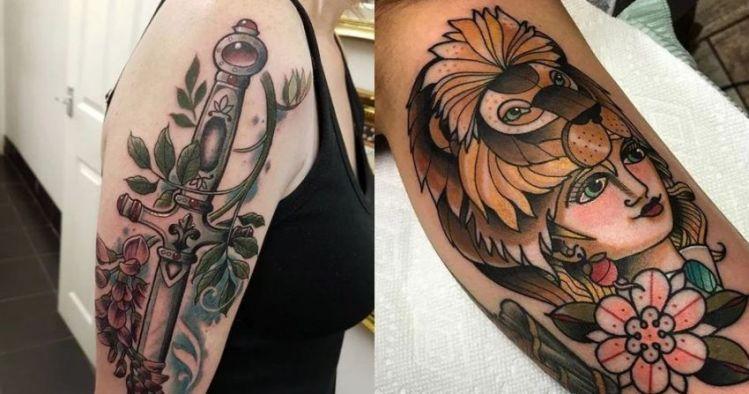 10 Tatuajes de Gryffindor que vas a querer hacerte.