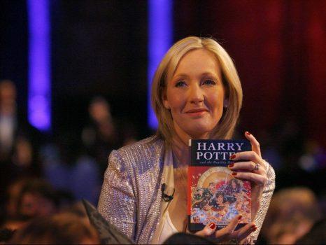La historia de Jk Rowling.