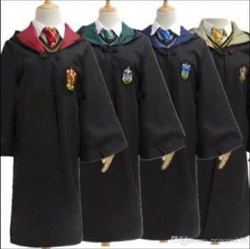 túnicas de harry potter