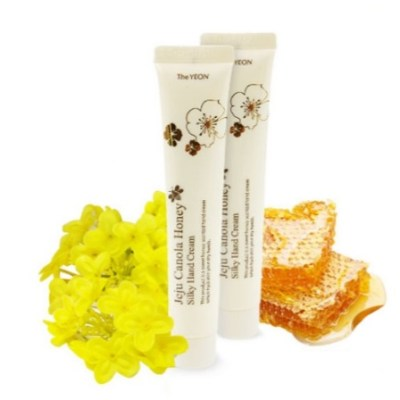 Крем для рук JEJU Canola Honey Silky Hand Cream The Yeon