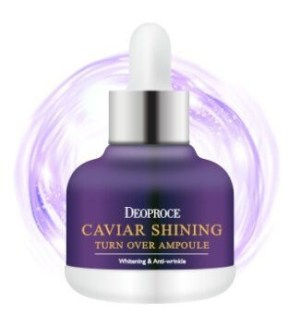 DEOPROCE Caviar Shining Turn Over Ampoule