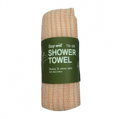 Tamina Easy-well shower towel Glossy & shine skin