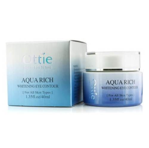 Ottie Aqua Rich Whitening eye cream