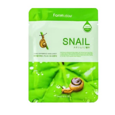 Тканевая маска FarmStay Visible Difference Mask Sheet Snail