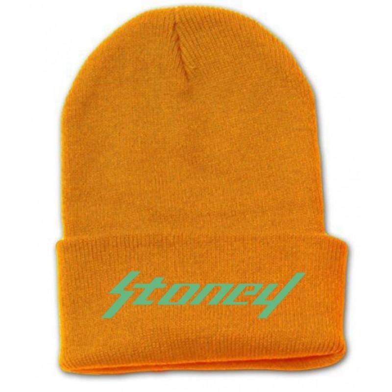 post malone bonnet orange stoney