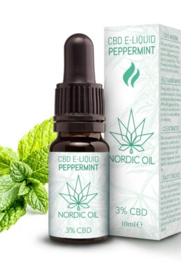 Nordic Oil - Pfefferminz CBD E-Liquid 5