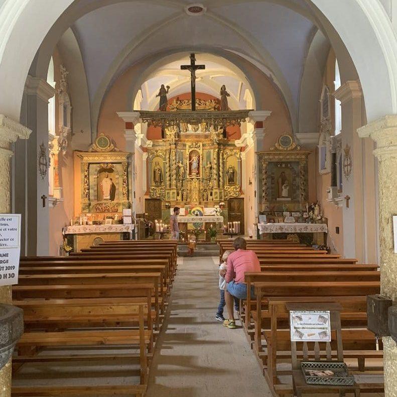 Eglise Notre Dame de la Gorge - contamines - France - 3