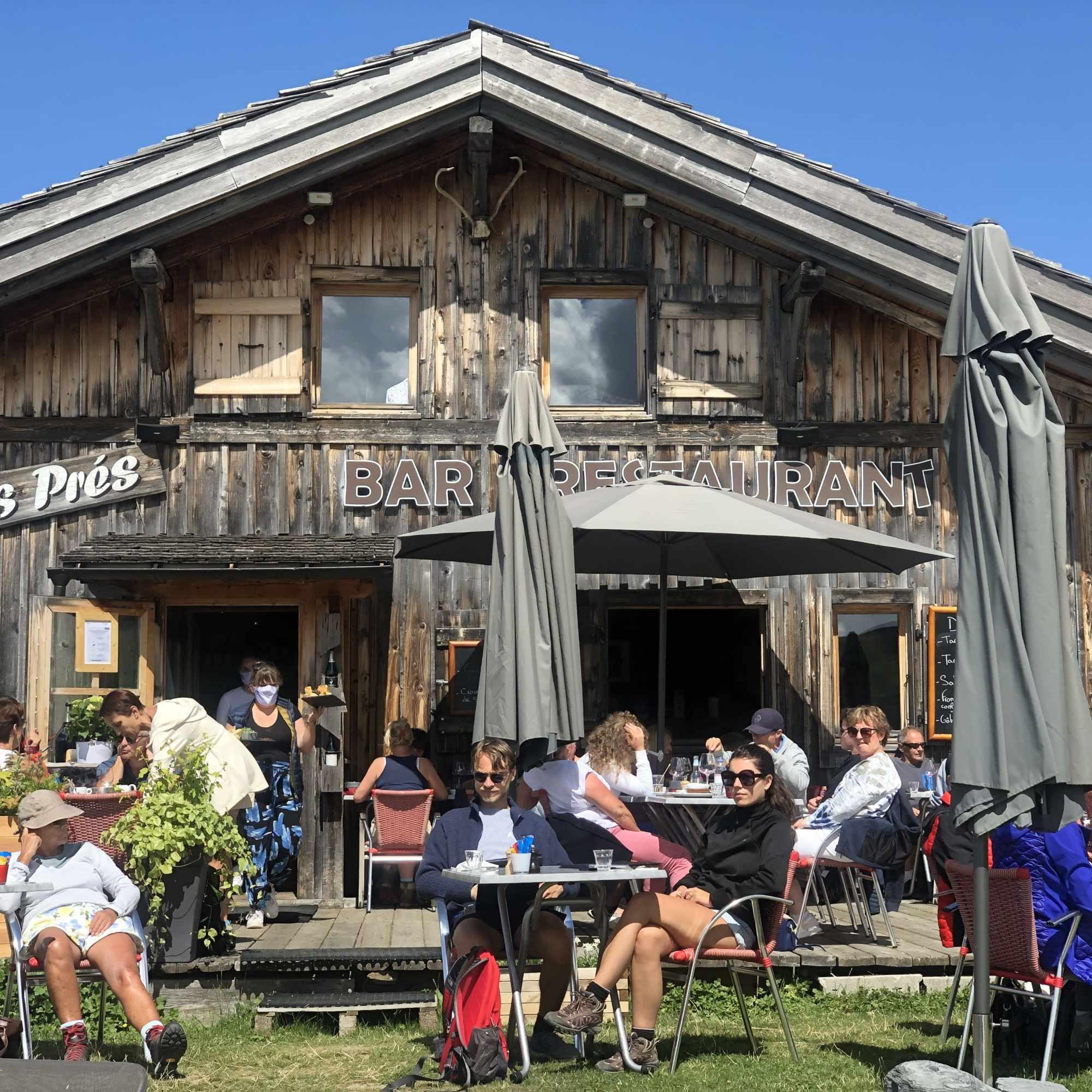 Sur les prés -Restaurant d'altitude - Megève - Rochebrune - image 3