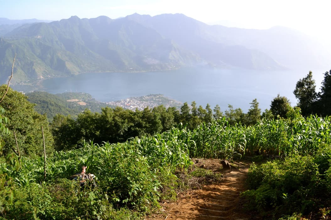 Volcan San Pedro - Lago Atitlan - Guatemala 1
