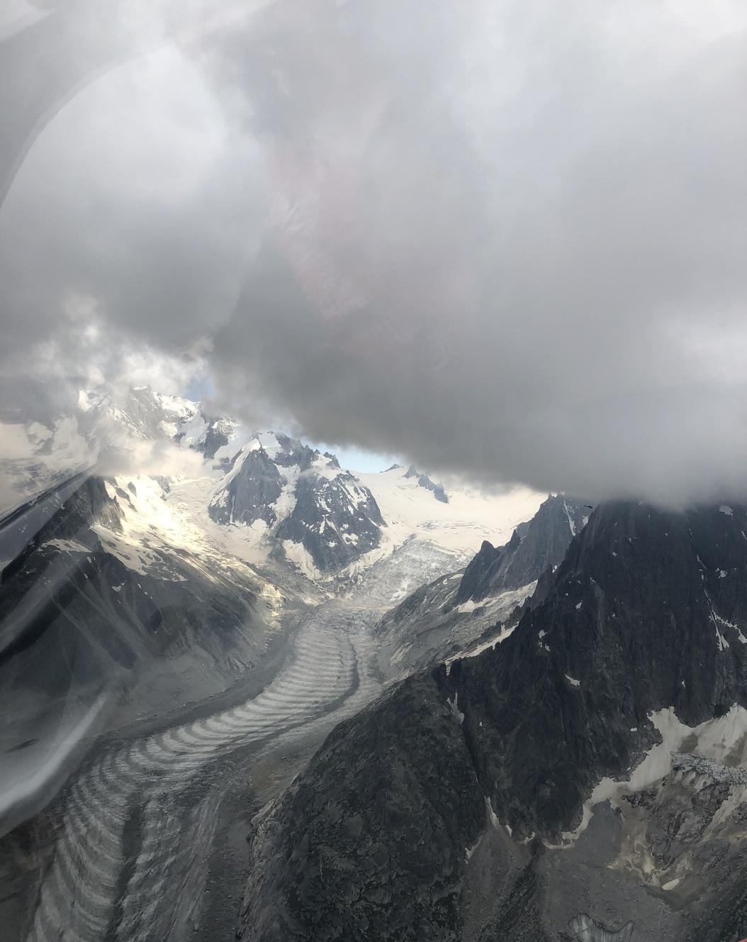 aerocime - vol avion massif du mont blanc - megeve - France - image 5