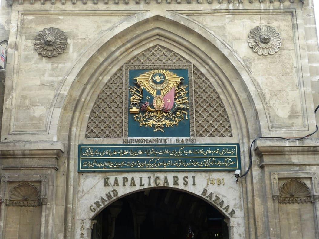 istanbul- grand bazar - turquie 1