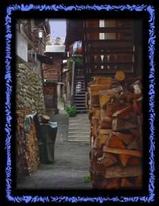 Das Dorf Binn im Binntal