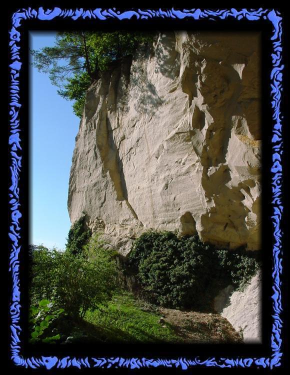 Outside the Emma Kunz cave