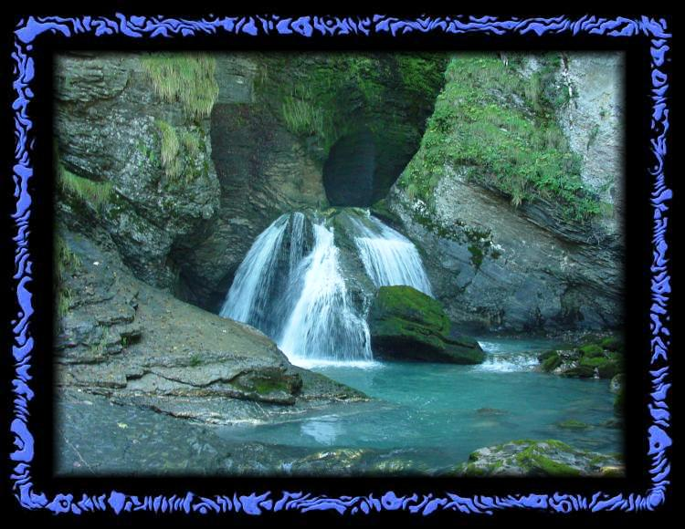 Here Sherlock Holmes fell to his death - Deadly Reichenbach Falls?