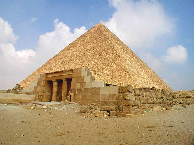 The Cheops Pyramid (the big Pyramid) - Egypt