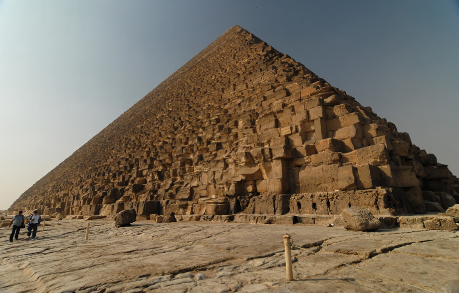 Place of strength - Cheops Pyramid of Giza, Egypt