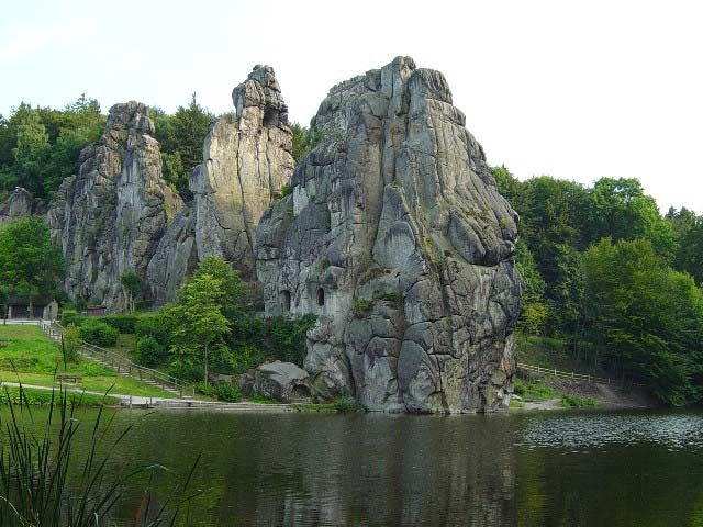 Die Externsteine - der Kraftort im Teutoburger Wald