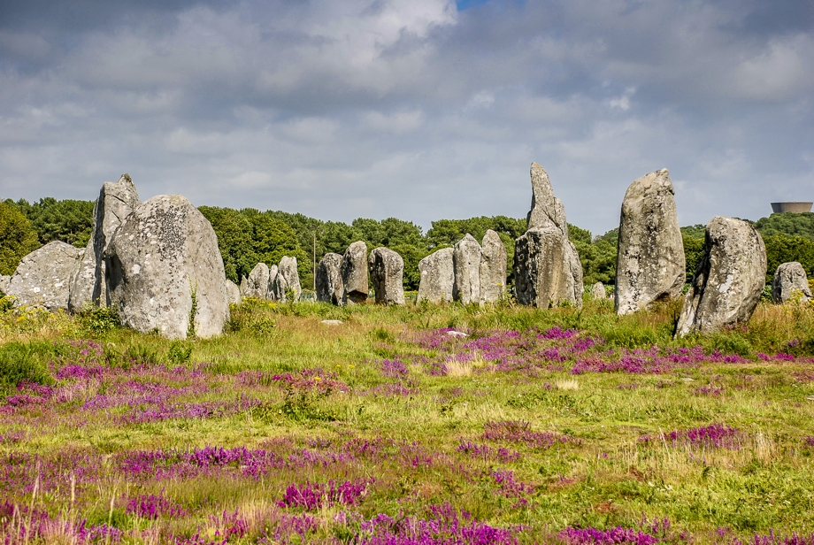 The Carnac stones - a strong place of strength in France