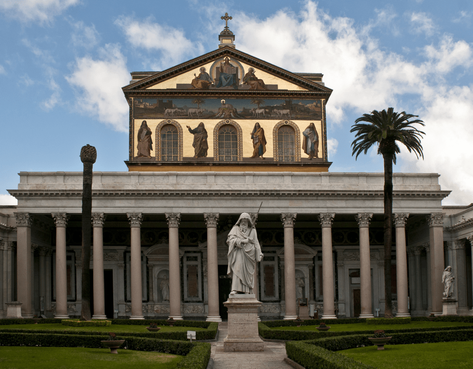 St. Paul vor den Mauern - Pauluskirche in Rom