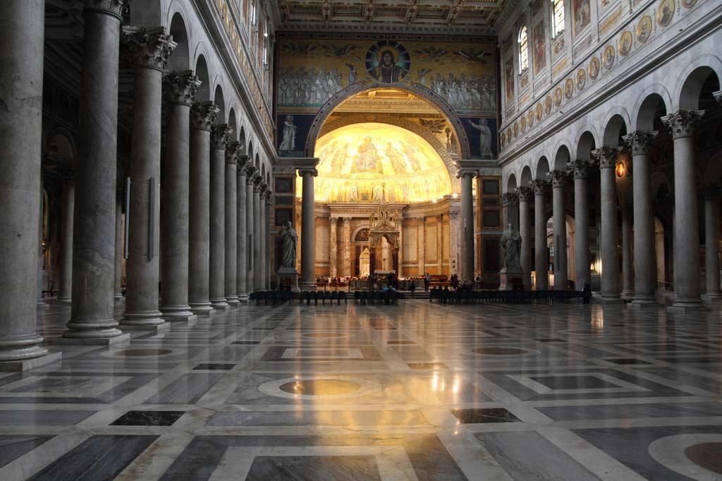 Sankt Paul vor den Mauern - Innenansicht