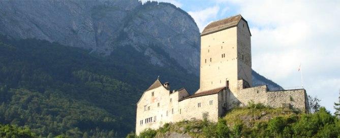 Schloss Sargans - Kraftort