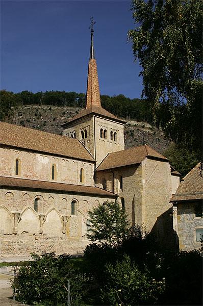 Das Kloster Romainmôtier