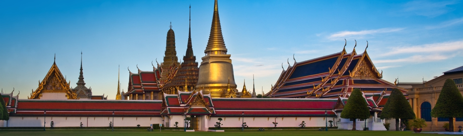 Der Königspalast (Grand Palace) in Bangkok