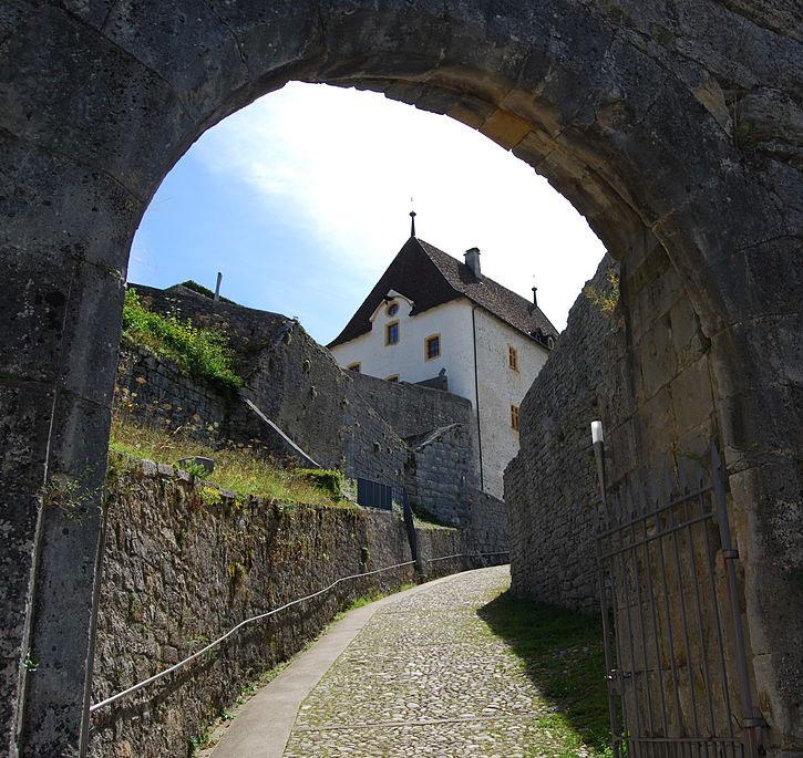 Schloss Valangin - Kanton Neuenburg