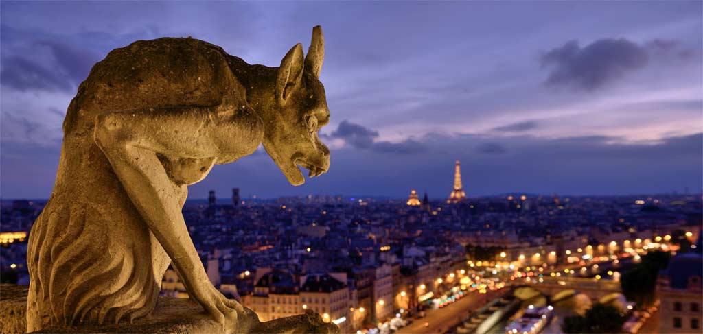 Figur - Kathedrale Notre-Dame de Paris
