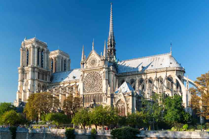 Notre-Dame de Paris - Strength place with great history