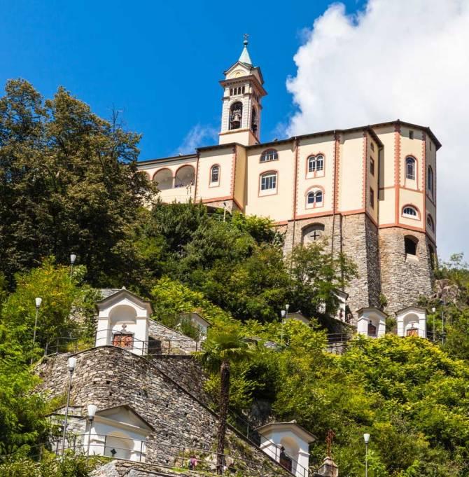 Wallfahrtskirche - Mdonna del Sasso