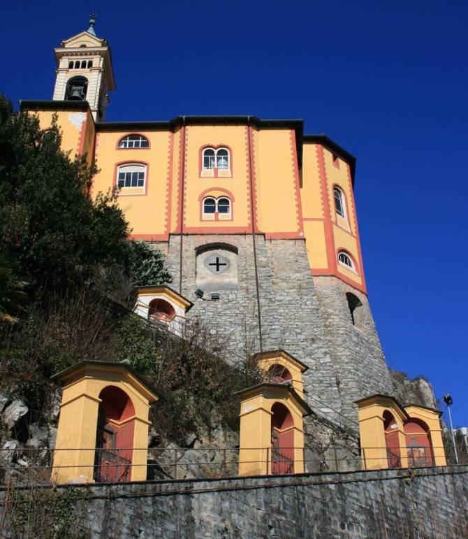 Kreuzweg - Madonna del Sasso im Tessin