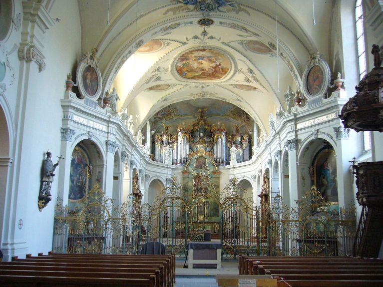 Klosterkirche Fischingen Innenansicht