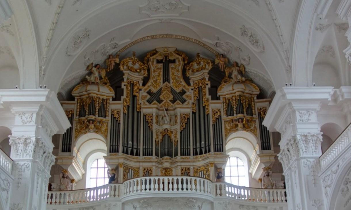 Orgel Klosterkirche Sankt Urban