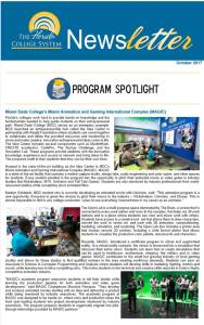 Florida Department of Education's spotlights the MAGIC Program