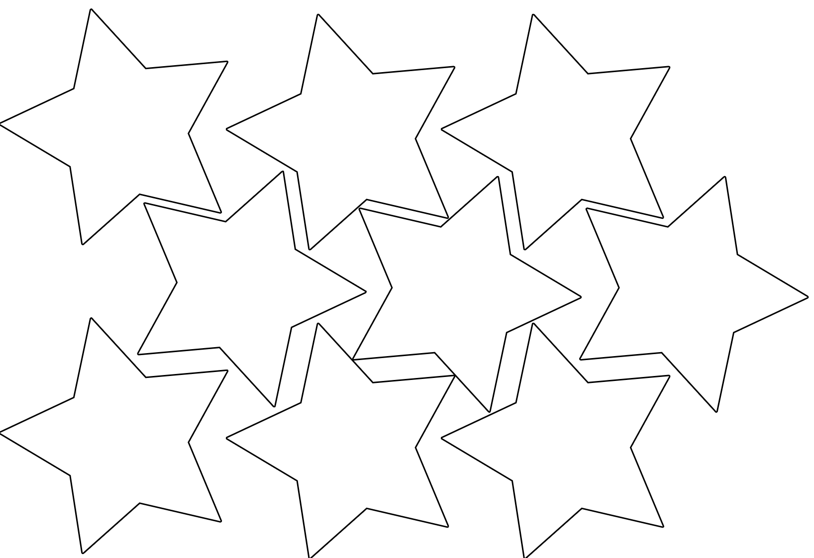 Star Garland Magic Activities