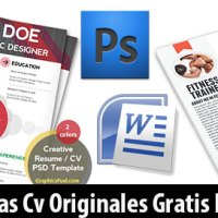 14 Plantillas Editables Originales para CV Profesionales Gratis