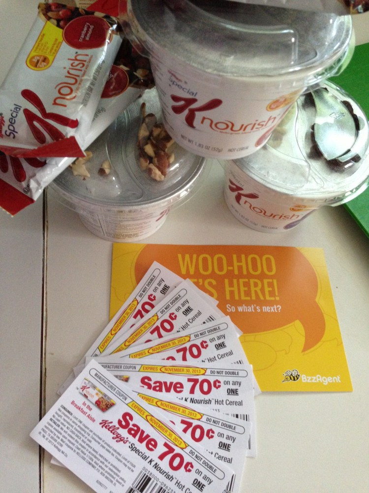 Bzzagent Product Review: Special K Nourish Hot Cereal and Cereal Bars (1/3)