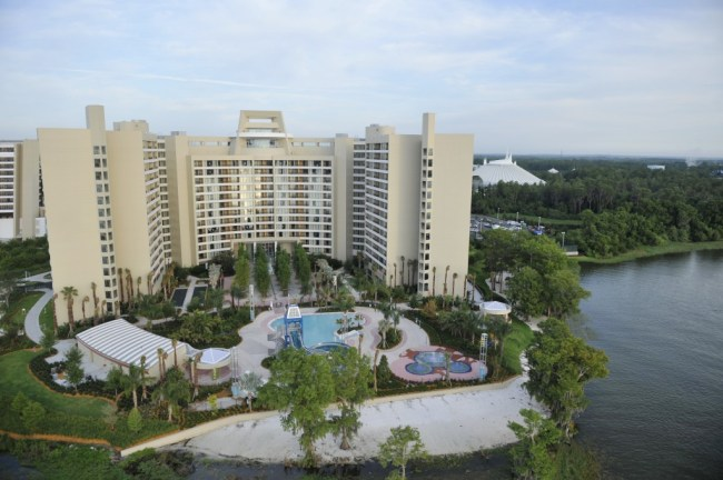 Bay Lake Tower; Photo by Disney