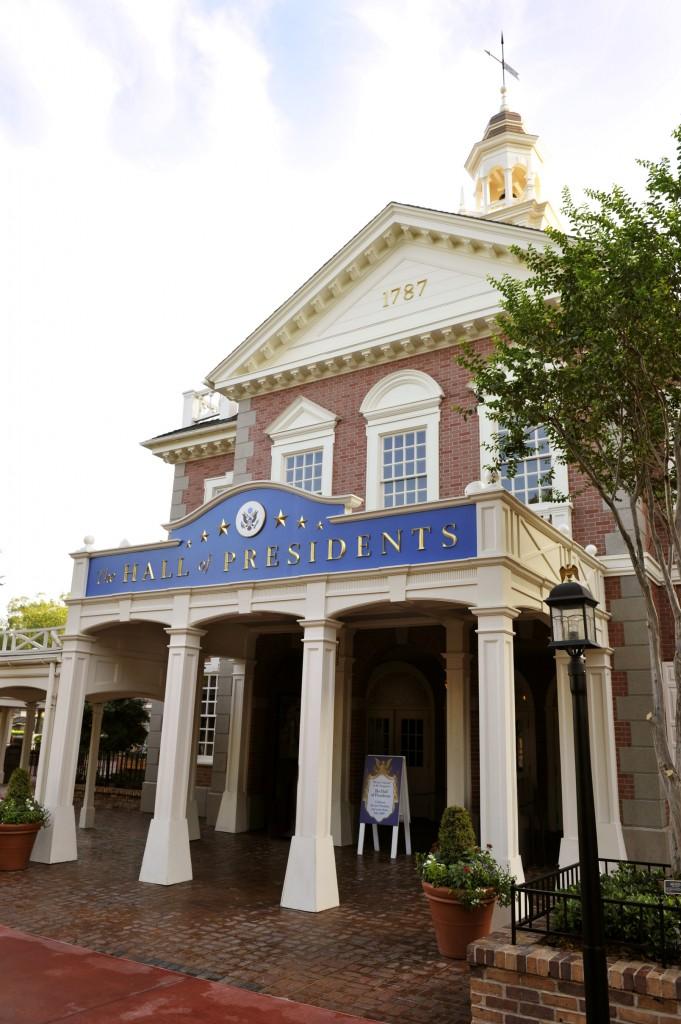 Hall of Presidents - Photo by Gene Duncan / Disney