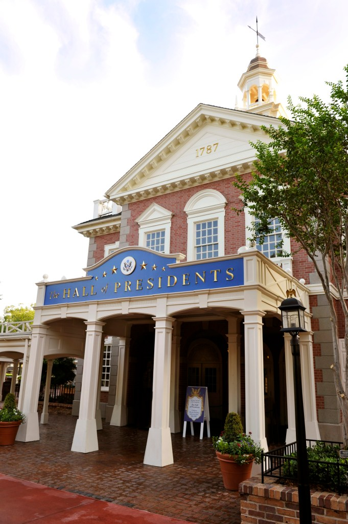 Hall of Presidents - Photo by Gene Duncan / Disney