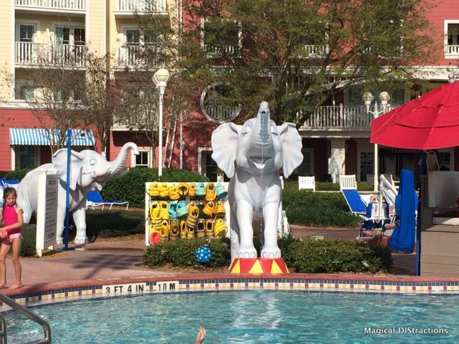 Elephant Fountains