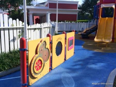Crazy House Playground Area