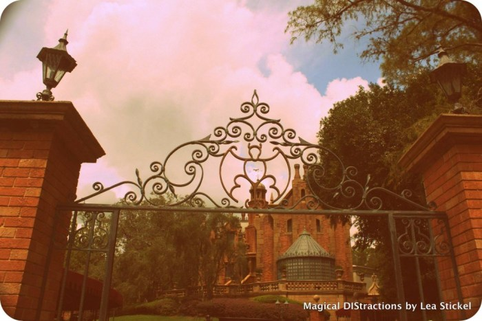 My favorite, Haunted Mansion