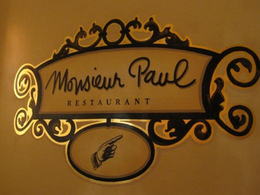 Monsieur Paul - Photo by Disney